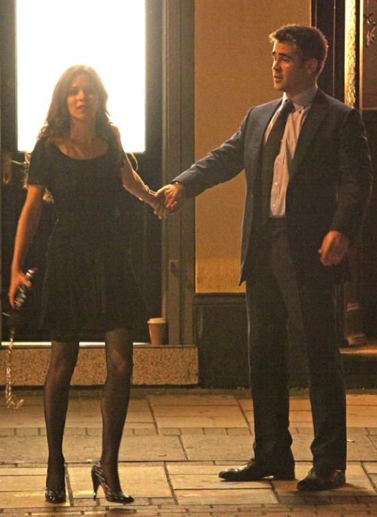 Колин Фаррелл с Анной Фрил в Телохранителе